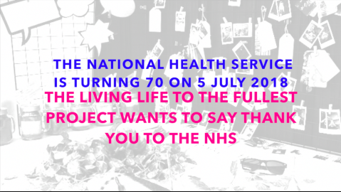Living Life to the Fullest wants to say thank you to the NHS (film shot)