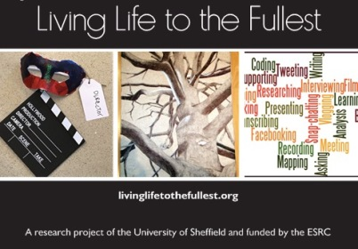 Living Life to the Fullest postcard