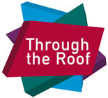 Through the roof logo
