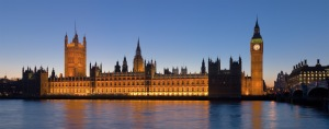 Palace of Westminister, London
