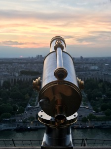 Image of the view from the Eiffel Tower
