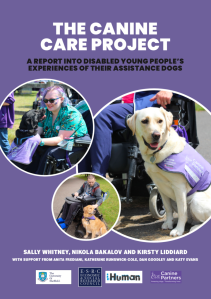 Canine Care Project Report front cover